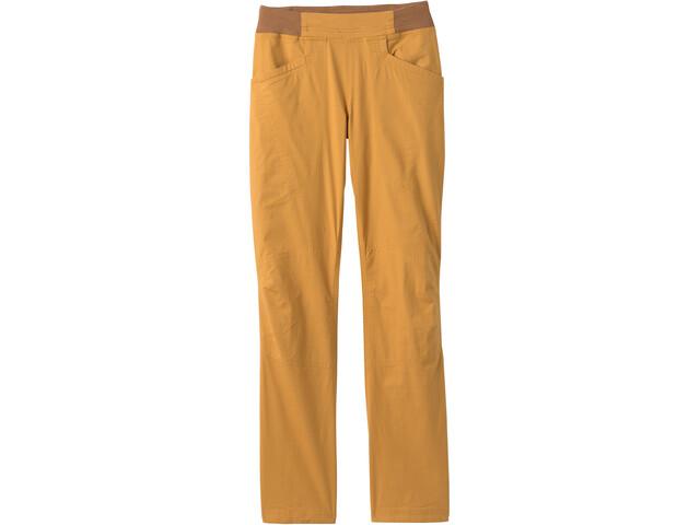 Prana Wakeen Broek Dames, geel